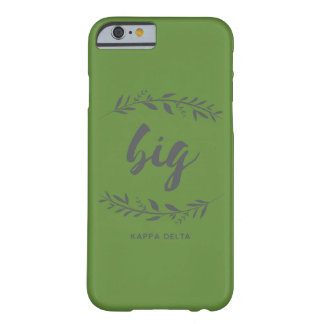 Kappa Delta Big Wreath Barely There iPhone 6 Case