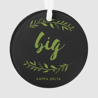 Kappa Delta Big Wreath Ornament