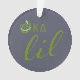 Kappa Delta Lil Script Ornament