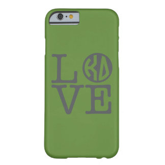 Kappa Delta Love Barely There iPhone 6 Case