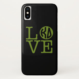 Kappa Delta Love iPhone X Case