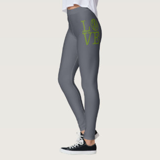 Kappa Delta Love Leggings