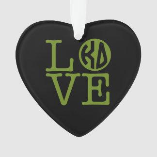 Kappa Delta Love Ornament