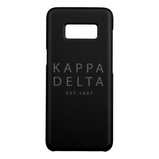 Kappa Delta Modern Type Case-Mate Samsung Galaxy S8 Case