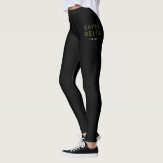 Kappa Delta Modern Type Leggings