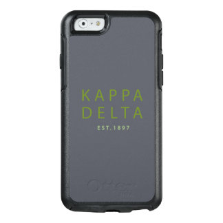 Kappa Delta Modern Type OtterBox iPhone 6/6s Case