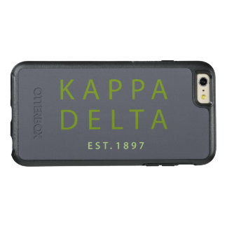 Kappa Delta Modern Type OtterBox iPhone 6/6s Plus Case