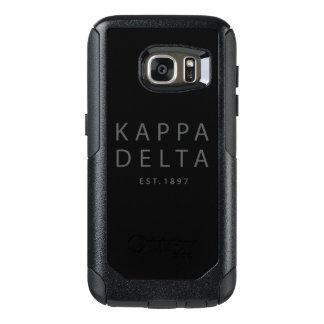Kappa Delta Modern Type OtterBox Samsung Galaxy S7 Case