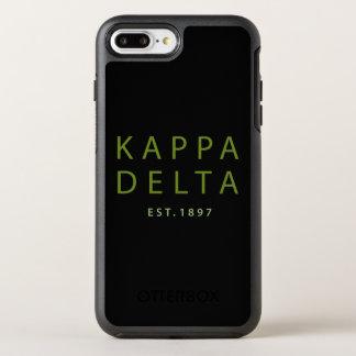 Kappa Delta Modern Type OtterBox Symmetry iPhone 8 Plus/7 Plus Case