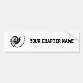 Kappa Delta Nautilus Bumper Sticker