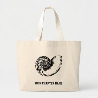 Kappa Delta Nautilus Large Tote Bag