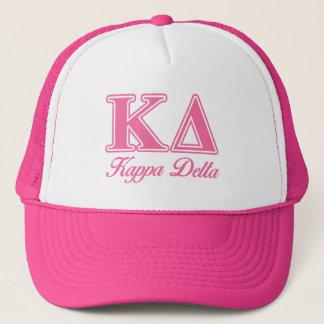 Kappa Delta Pink Letters Trucker Hat