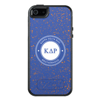 Kappa Delta Rho | Badge OtterBox iPhone 5/5s/SE Case
