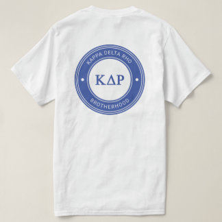 Kappa Delta Rho | Badge T-Shirt