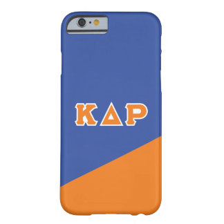 Kappa Delta Rho | Greek Letters Barely There iPhone 6 Case