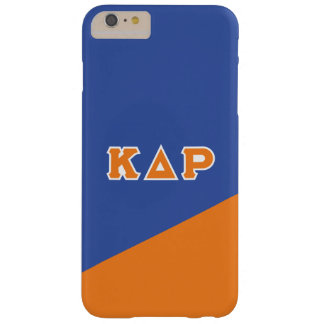 Kappa Delta Rho   Greek Letters Barely There iPhone 6 Plus Case