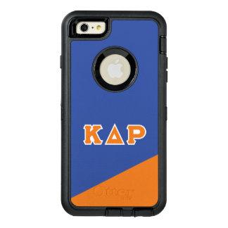 Kappa Delta Rho   Greek Letters OtterBox Defender iPhone Case