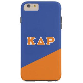 Kappa Delta Rho   Greek Letters Tough iPhone 6 Plus Case