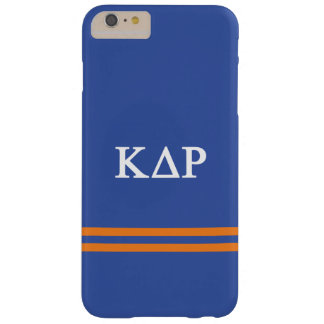 Kappa Delta Rho   Sport Stripe Barely There iPhone 6 Plus Case
