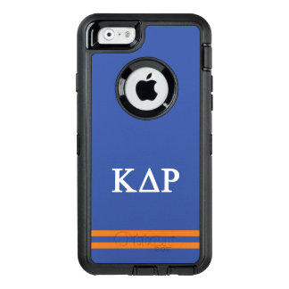 Kappa Delta Rho | Sport Stripe OtterBox Defender iPhone Case