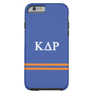 Kappa Delta Rho | Sport Stripe Tough iPhone 6 Case