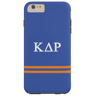 Kappa Delta Rho | Sport Stripe Tough iPhone 6 Plus Case