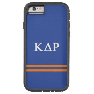 Kappa Delta Rho | Sport Stripe Tough Xtreme iPhone 6 Case