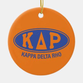 Kappa Delta Rho   Vintage Christmas Ornament
