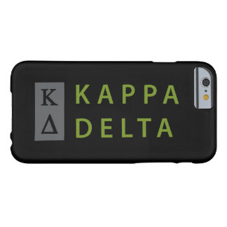 Kappa Delta Stacked Barely There iPhone 6 Case