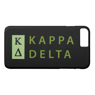 Kappa Delta Stacked iPhone 8 Plus/7 Plus Case