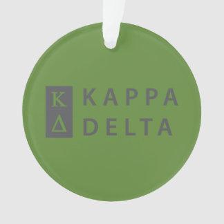 Kappa Delta Stacked Ornament