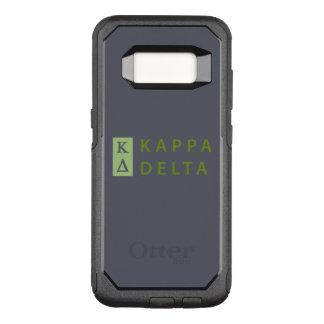 Kappa Delta Stacked OtterBox Commuter Samsung Galaxy S8 Case