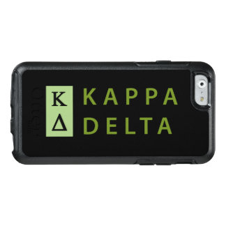 Kappa Delta Stacked OtterBox iPhone 6/6s Case