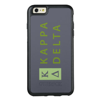 Kappa Delta Stacked OtterBox iPhone 6/6s Plus Case