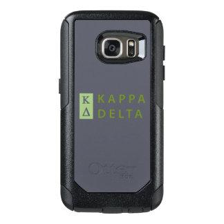 Kappa Delta Stacked OtterBox Samsung Galaxy S7 Case