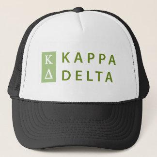 Kappa Delta Stacked Trucker Hat