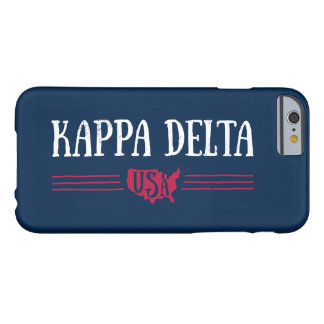 Kappa Delta USA Barely There iPhone 6 Case