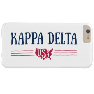 Kappa Delta USA Barely There iPhone 6 Plus Case
