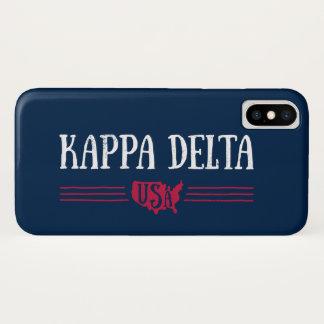 Kappa Delta USA iPhone X Case