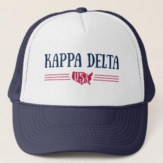 Kappa Delta USA Trucker Hat