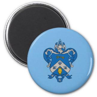 Kappa Kappa Gama Coat of Arms 6 Cm Round Magnet