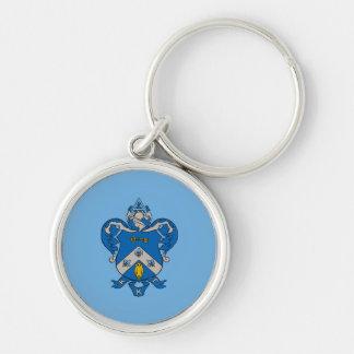 Kappa Kappa Gama Coat of Arms Key Ring