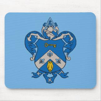 Kappa Kappa Gama Coat of Arms Mouse Mat
