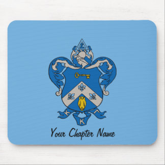 Kappa Kappa Gama Coat of Arms Mouse Mat