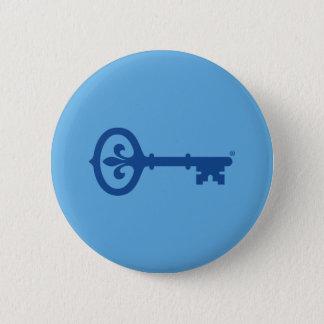 Kappa Kappa Gama Key Symbol 6 Cm Round Badge