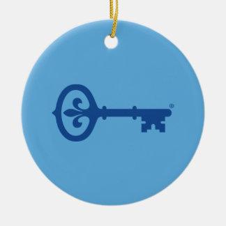 Kappa Kappa Gama Key Symbol Christmas Ornament