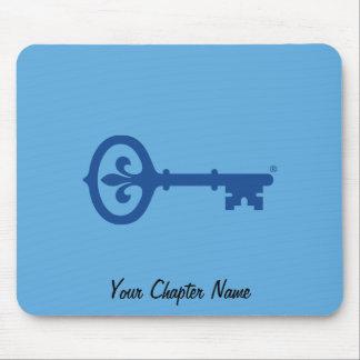 Kappa Kappa Gama Key Symbol Mouse Pad