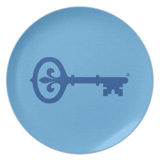 Kappa Kappa Gama Key Symbol Plate