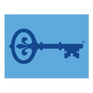 Kappa Kappa Gama Key Symbol Postcard