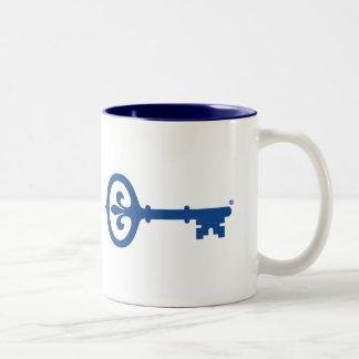 Kappa Kappa Gama Key Symbol Two-Tone Coffee Mug